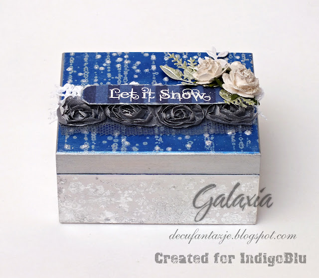 Malutkie zimowe pudełko