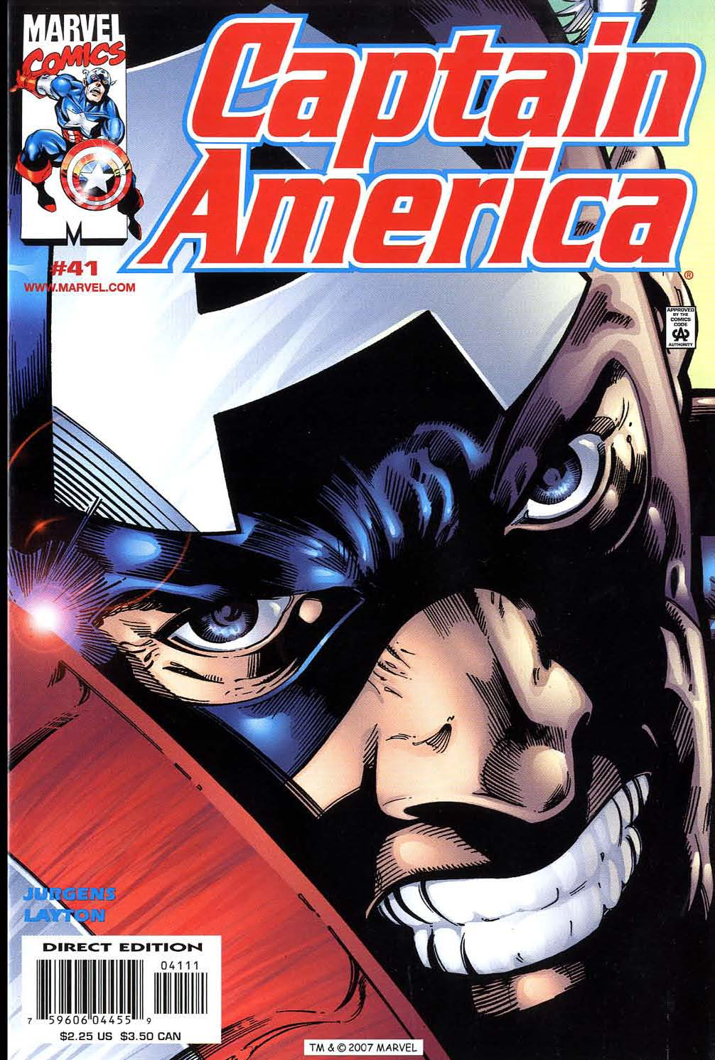 Captain America (1998) 41 Page 1
