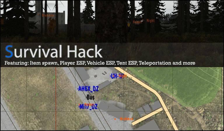 Arma 2 DayZ Hacks