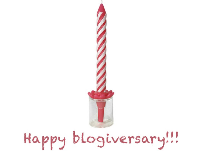 Happy one year blogiversary - jazzille blog - one year anniversary