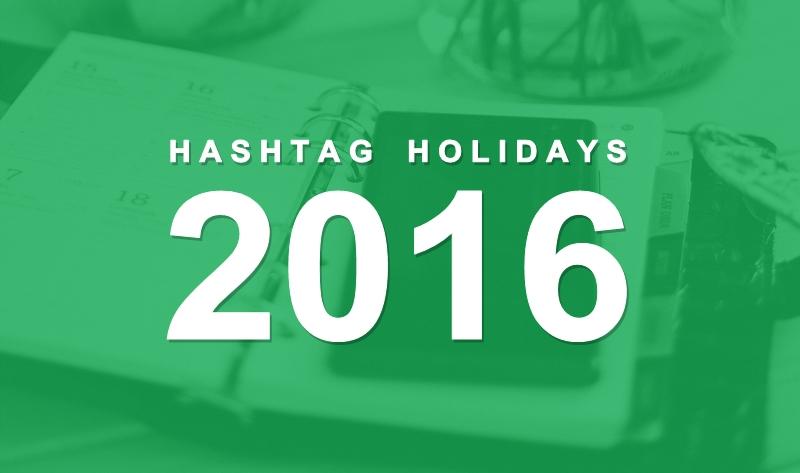 Social Media Content Calendar 2016 - #infographic