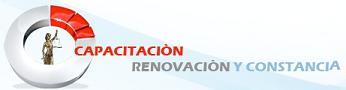 Capacitación Renovación y Constancia