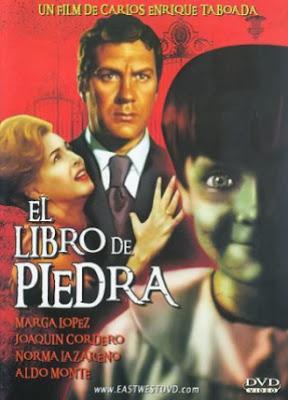 el libro de piedra, gran pelicula de terror mexicana