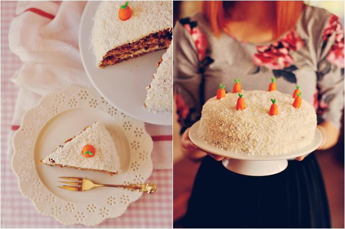 przepis na, tort, marchewkowy, na urodziny, imprezę, pyszny, z wiórkami kokosowymi, sprawdzony, najlepszy