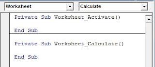 Window VBA Code