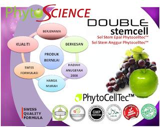 Phyto Science Double Stem Cell - Produk tercanggih kini mampu menjaga