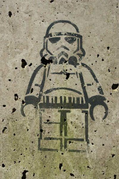 Fresh Pics Star Wars Graffiti