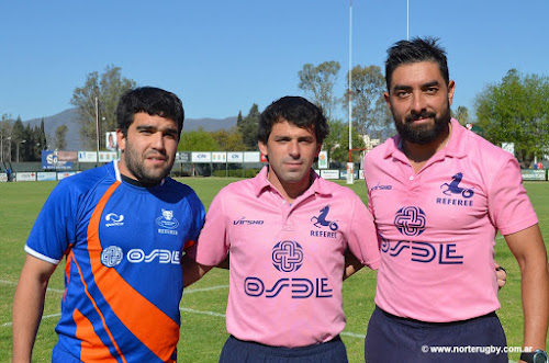 Matías Ortiz de Rosas (URT), David Costilla (URT) y Santiago Pérez (URS).