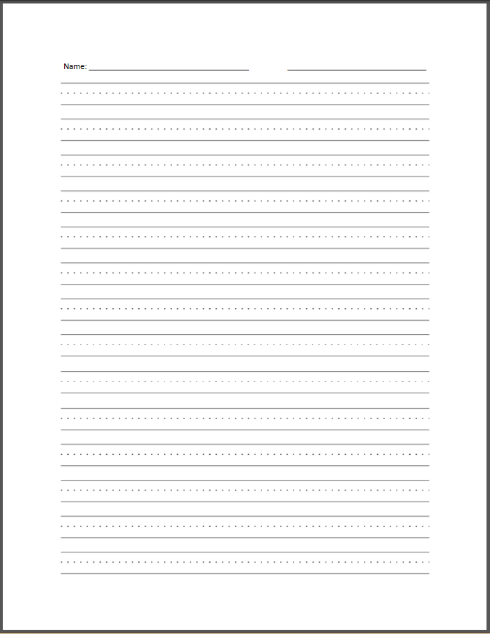 Blank Lined Handwriting Sheets | Search Results | Calendar 2015