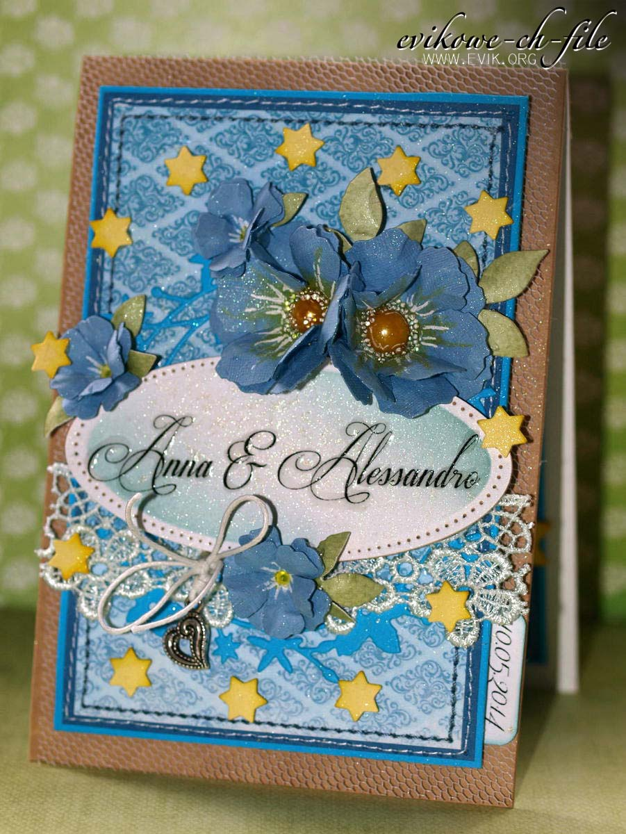 Sizzix tattered Florals, Spellbinders Majestic Elements Radiant Rectangles Dies, Evik, Ewa Jarlińska, kartka ślubna, handmade wedding card, European Parliament, Perfect Pearls Mists kiwi, Parlament Europejski, Broken China Distress ink,