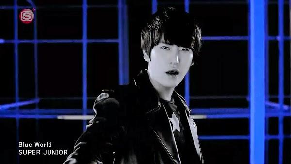 Super Junior Kyuhyun Blue World