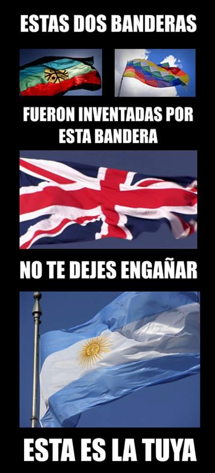 LOS ARGENTINOS TENEMOS UNA SOLA BANDERA, DEFENDELA.!!!
