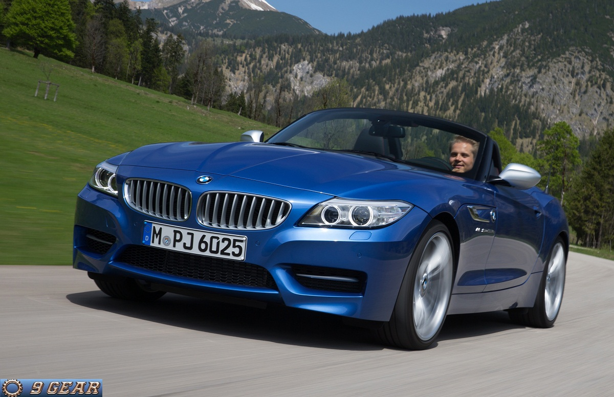 The New Bmw Z4 In Estoril Blue Metallic Car Reviews