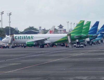 SIAP TERBANG : Anak perusahaan Garuda Indonesia, Citilink dijadwalkan September ini akan terbang dua kali sehari, dari dan ke Pontianak. Menambah deretan panjang armada penerbangan yang melayani rute kota khatulistiwa. FOTO INTERNET.