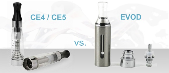 CE4 Vs. EVOD Clearomizers