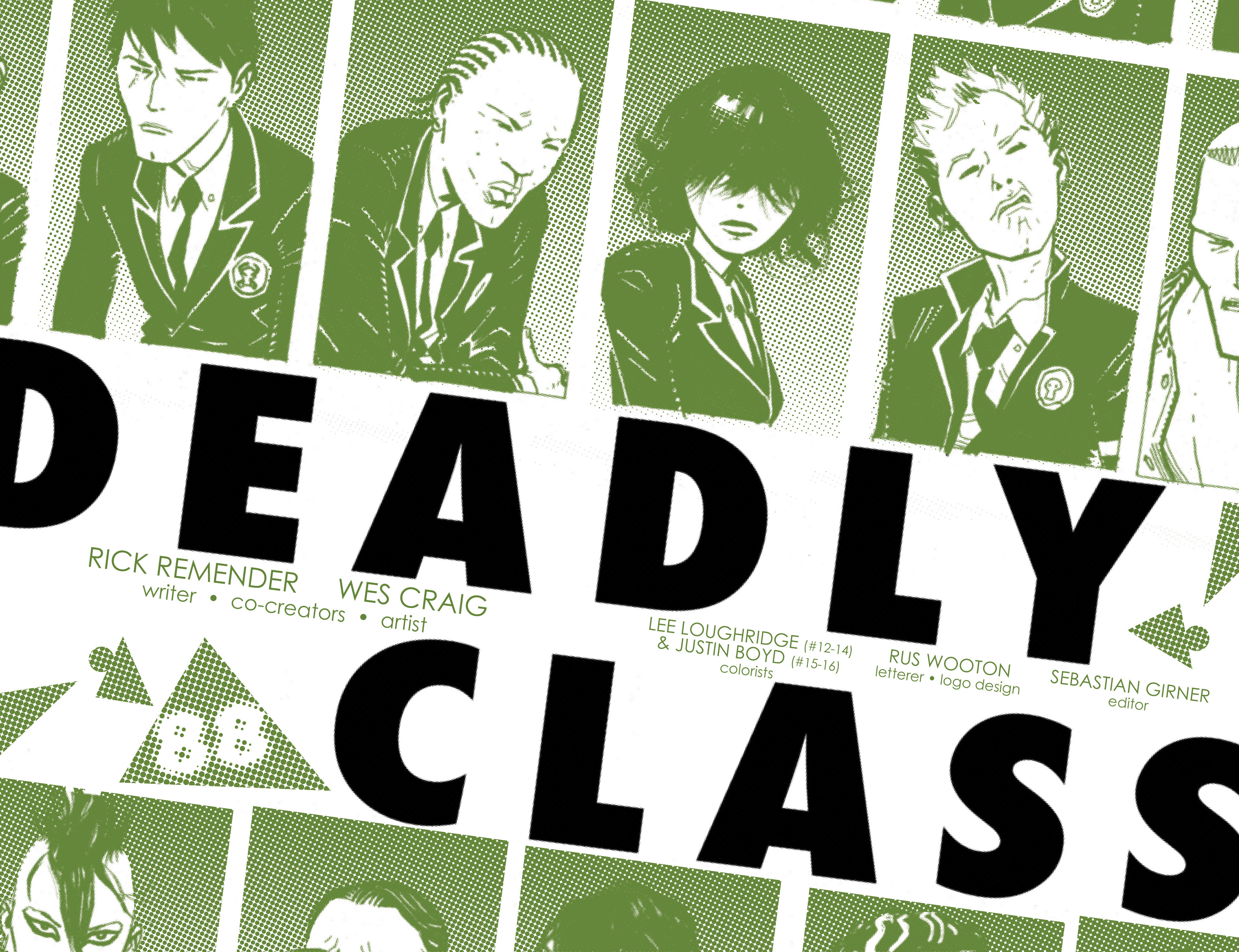 Read online Deadly Class comic -  Issue # _TPB 3 - 4