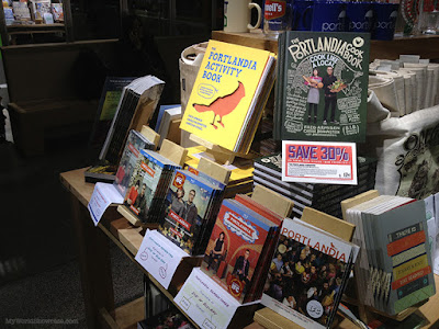 Portlandia section at Powell's City of Books in Portland