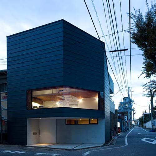 Fachadas de casas minimalistas bonitas y peque as for Japanese minimalist small house design