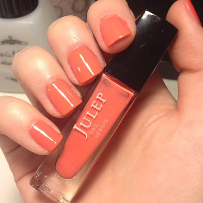julep nail polish in gloria