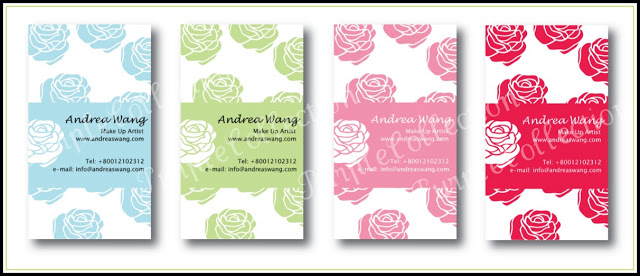 Floral Business Cards Collection, floral, business card, floral collection, art card with matt lamination