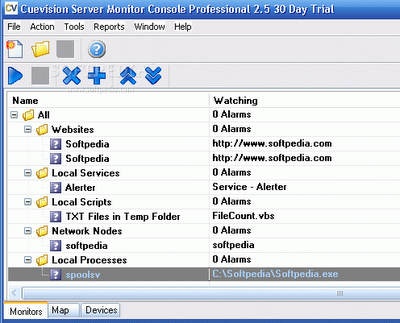 Download Cuevision Server Monitor Professional
