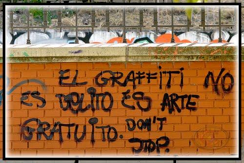 Pandillerismo y graffiti persiste en Cholula