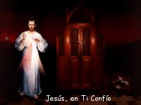 foto de la divina misericordia con jesus misericordioso