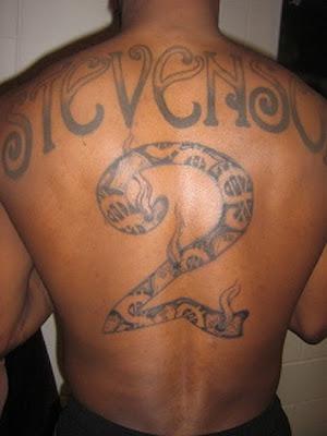 Deshawn Stevenson Tattoos