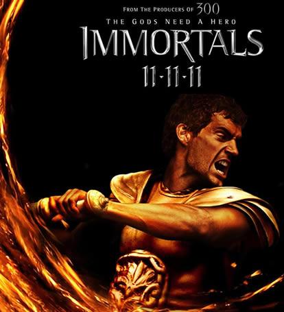 Immortals ölümsüzler 2011