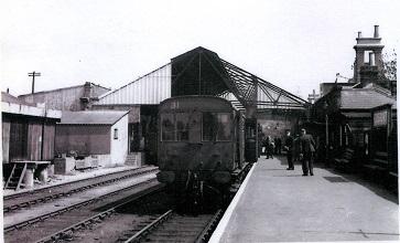Gosport Station 1953