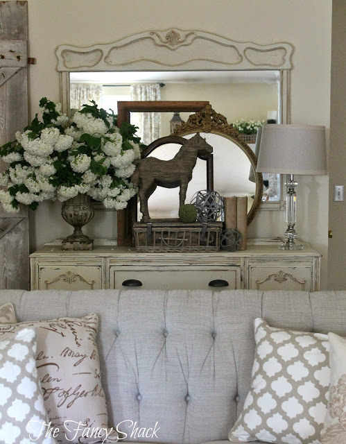 The Fancy Shack- Living Room-Treasure Hunt Thursday- From My Front Porch To Yours