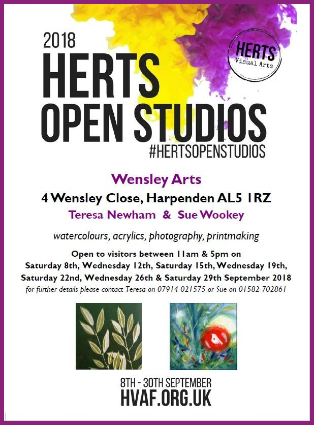 Herts Open Studios 2018