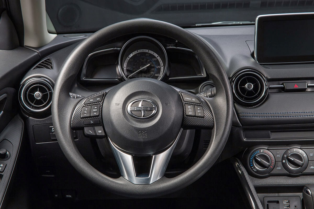 2016 Scion iA dash