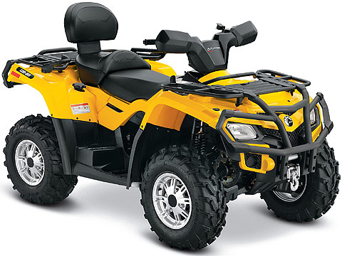 2013 Can-Am Outlander MAX XT 400 ATV pictures. 480x360 pixels