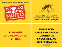 O BLOG na campanha contra o mosquito
