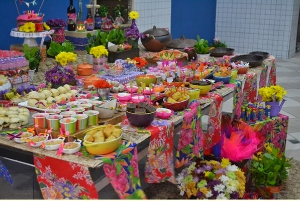 como decorar festa junina