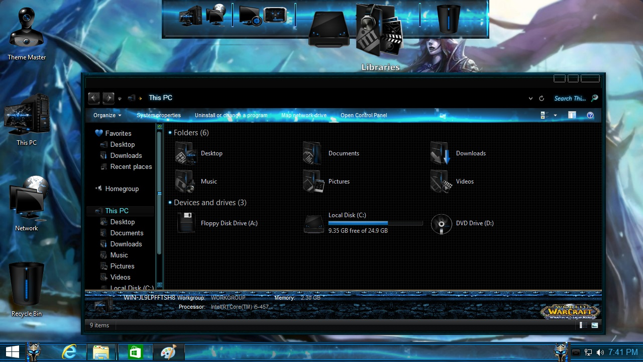 How to install World of Warcraft Transformation Pack on Windows 8.1
