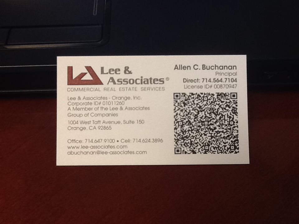 Location Advice - California Businesses: Do QR Codes work for ...