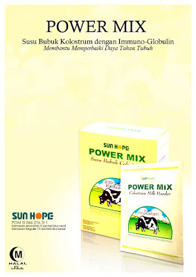 SUN HOPE POWER MIX