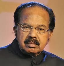 Minister of Petroleum and Natural Gar Dr M Veerappa Moily