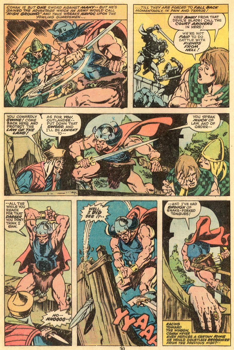 Conan the Barbarian (1970) Issue #57 #69 - English 18