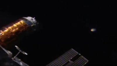 Glowing UFO Spotted At Space Station 2015, UFO Sighting News