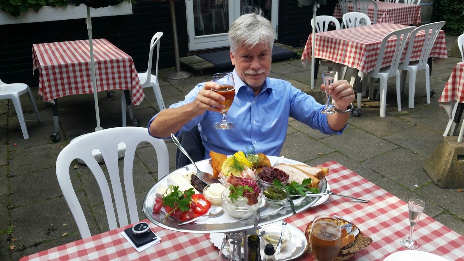 Ølcaféer i Köpenhamn: Restaurant Bjælkehuset, Valby Langgade 2