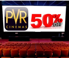 pvr 50% discount offer