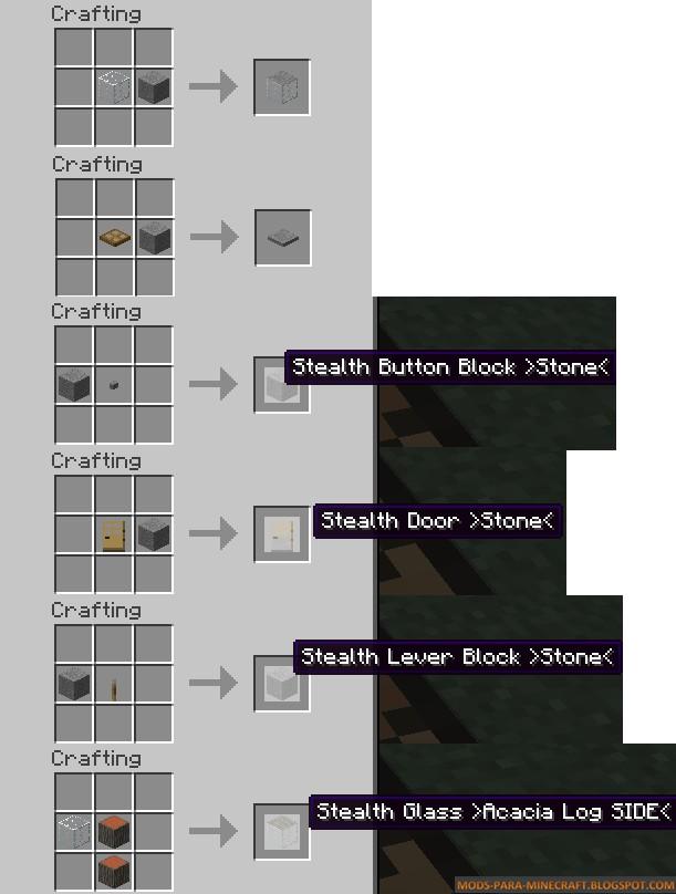 Como crear bloques para trampas Minecraft 1.7.10