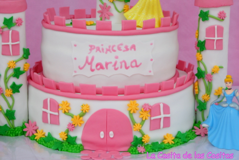La casita de las cositas tartas princesas disney - Casitas de princesas ...