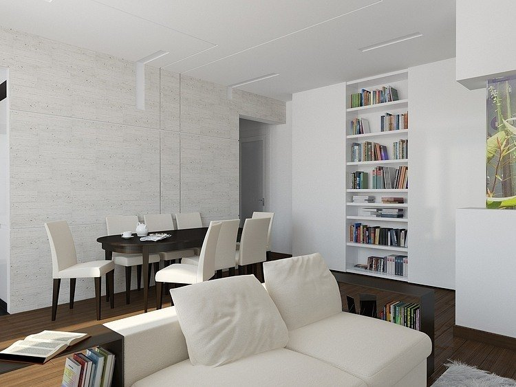 Clever Design Ideas Apartment Interior Modern Classic