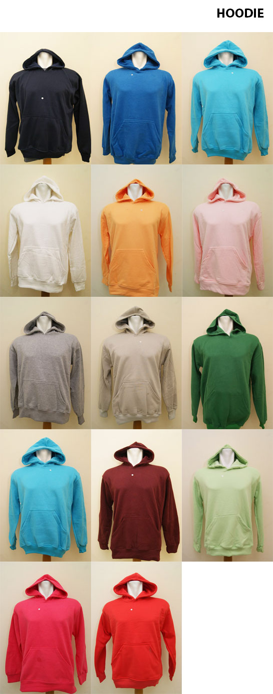 Hoodie Polos Cotton Fleece