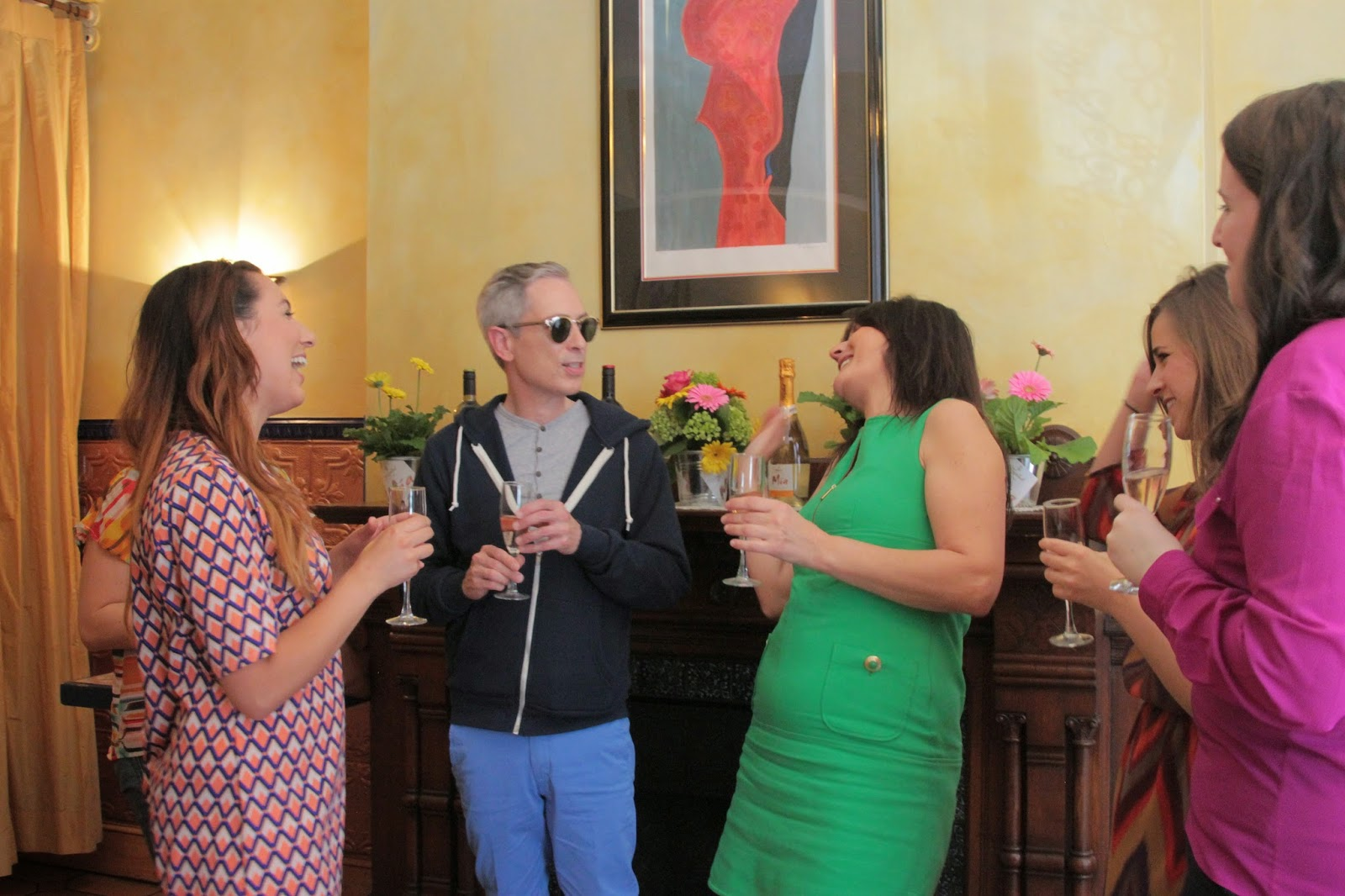 mia wines:  lunch with gloria collell