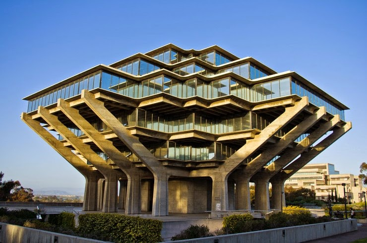 Geisel Library Room